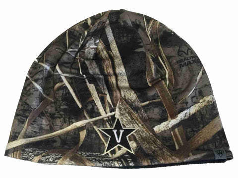Vanderbilt Commodores TOW Realtree Max5 BLACK Seasons Reversible Beanie Hat Cap