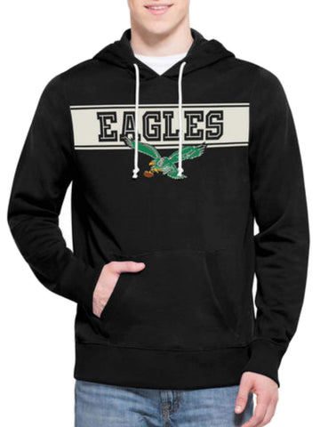 Shop Philadelphia Eagles 47 Brand Retro 1987 Playmaker Hoodie Sweatshirt