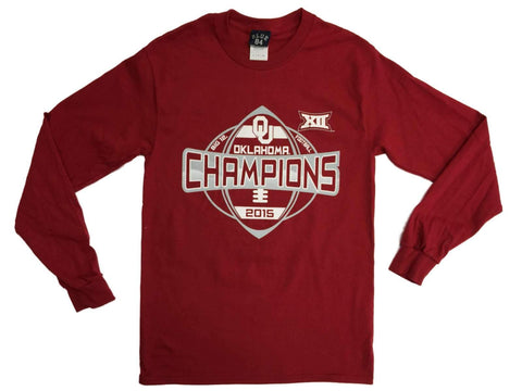 Oklahoma Sooners 2015 Football Big 12 Conference Champions LS T-Shirt