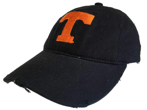 Shop Tennessee Volunteers Retro Brand Black Heritage Flexfit Slouch Hat Cap (S/M)