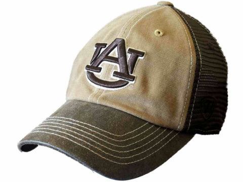 Shop Auburn Tigers TOW Brown Two Tone Incog Adjustable Snapback Mesh Hat Cap