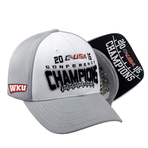 Western Kentucky Hilltoppers 2015 Football CUSA Conference Champ Locker Room Hat