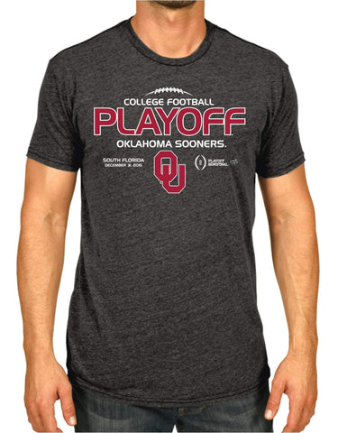 Oklahoma Sooners Victory 2016 College Football Playoff Semifinal T-Shirt - Sporting Up