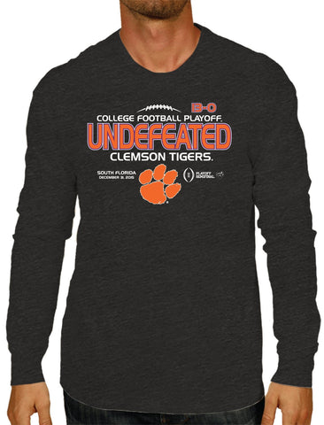 Shop Clemson Tigers 2016 College Football Playoff Semi Undefeated LS T-Shirt