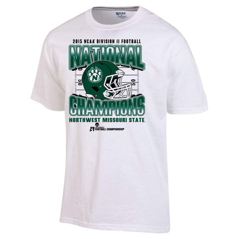 Northwest Missouri State Bearcats 2015 DII Football National Champions T-Shirt