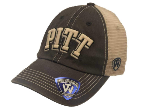 Pitt Panthers TOW Navy Gray Offroad Adjustable Snapback Mesh Hat Cap