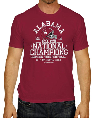 Shop Alabama Crimson Tide 2016 College Football Playoff Champions Red T-Shirt