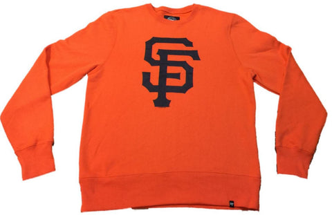 San Francisco Giants 47 Brand Orange Classic Crew Pullover Sweatshirt (M)