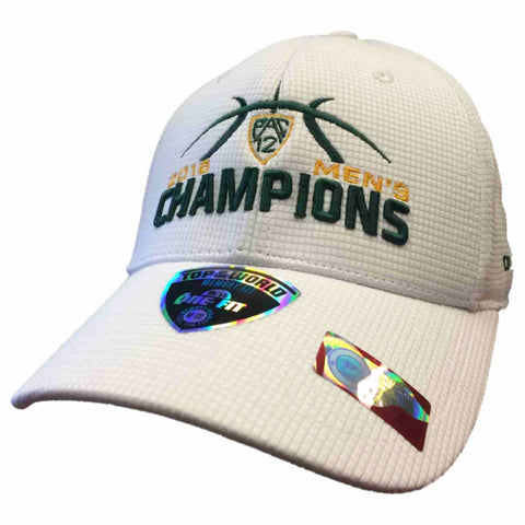 Oregon Ducks 2016 Pac 12 Conference Basketball Champions Locker Room Hat Cap