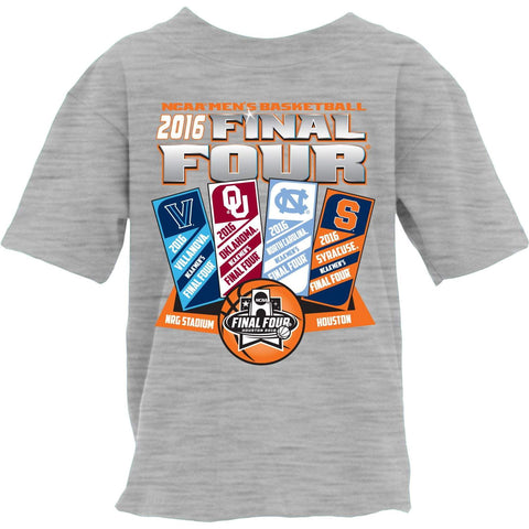 2016 NCAA Final Four March Madness Basketball Houston Ticket YOUTH T-Shirt - Sporting Up