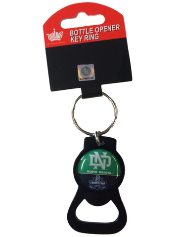 North Dakota Fighting Hawks Aminco 2016 Frozen Four NCAA Bottle Opener Keychain