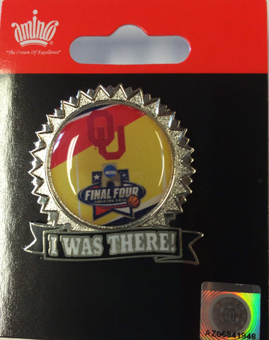 Oklahoma Sooners Aminco 2016 NCAA Final Four I was There Collectible Lapel Pin