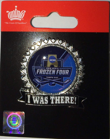 2016 NCAA Tampa Bay Florida Aminco Frozen Four I was There Collectible Lapel Pin - Sporting Up