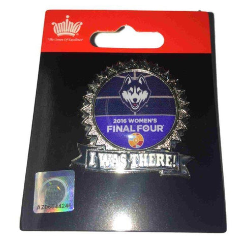 "UCONN Connecticut Huskies 2016 NCAA Final Four ""I Was There"" Collectible Pin"