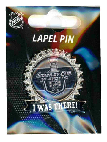 "2016 Stanley Cup Playoffs Aminco NHL Hockey ""I Was There"" Metal Lapel Pin"