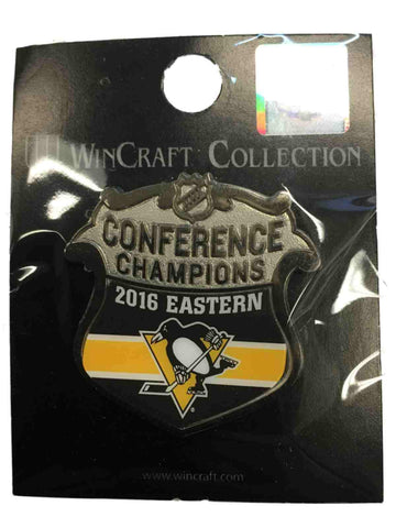 Pittsburgh Penguins 2016 Eastern Conference Champs Stanley Cup Metal Lapel Pin