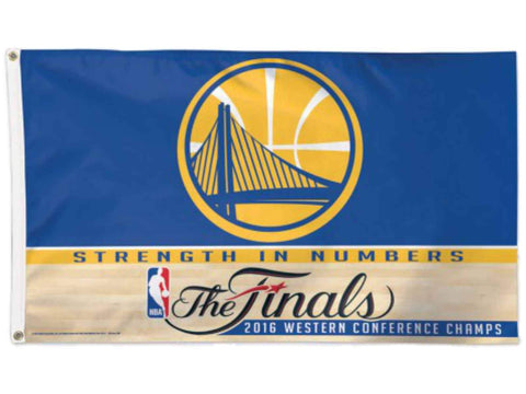 Golden State Warriors 2016 Western Conference Champions Finals Flag (3'x 5')