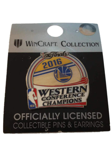 Golden State Warriors NBA 2016 Finals Western Conference Champions Lapel Pin