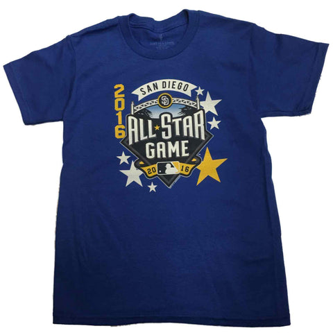 2016 All-Star Game San Diego SAAG YOUTH Royal Blue Short Sleeve T-Shirt