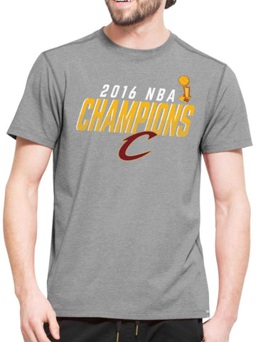 Cleveland Cavaliers 47 Brand 2016 NBA Finals Champions Gray High Point T-Shirt