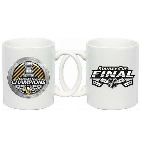 Pittsburgh Penguins 2016 Stanley Cup Champions Ceramic White Coffee Mug (11 oz)