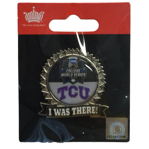 "TCU Horned Frogs 2016 NCAA Omaha College World Series ""I Was There"" Lapel Pin"