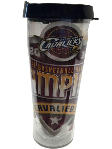 Shop Cleveland Cavaliers 2016 NBA Champions Clear Insert Travel Mug Tumbler (22oz)