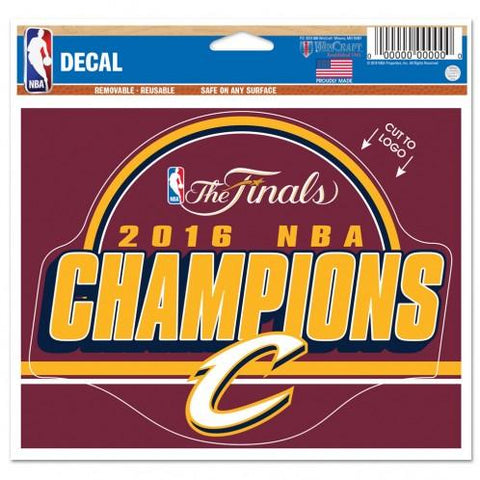 Shop Cleveland Cavaliers 2016 NBA Champions Removable Reusable Multi-Use Decal