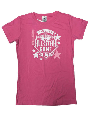 Shop 2016 MLB All-Star Game San Diego SAAG YOUTH Girls Pink Cotton T-Shirt - Sporting Up