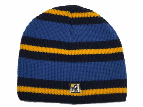 UCLA Bruins The Game Blue with Yellow Stripes Skull Beanie Hat Cap