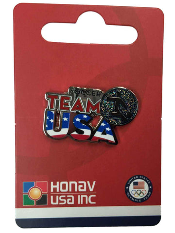 "2016 Summer Olympics Rio Brazil ""Team USA"" Soccer Pictogram Metal Lapel Pin - Sporting Up"