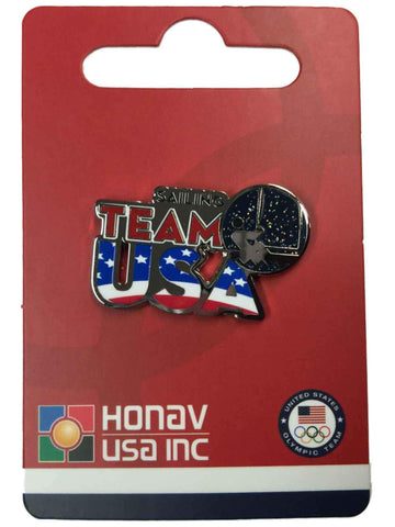 "2016 Summer Olympics Rio Brazil ""Team USA"" Sailing Pictogram Metal Lapel Pin - Sporting Up"
