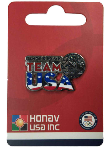 "Shop 2020 Summer Olympics Tokyo Japan ""Team USA"" Canoe & Kayak Pictogram Lapel Pin"