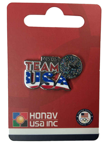"Shop 2016 Summer Olympics Rio Brazil ""Team USA"" Diving Pictogram Metal Lapel Pin - Sporting Up"