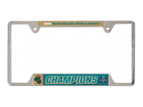 Coastal Carolina Chanticleers 2016 Baseball CWS Champions License Plate Frame