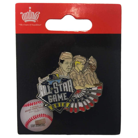 Shop 2016 All-Star Game San Diego Aminco Military Servicemen Collectible Lapel Pin