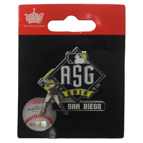 2016 All-Star Game San Diego Aminco Baseball Batter Collectible Metal Lapel Pin - Sporting Up