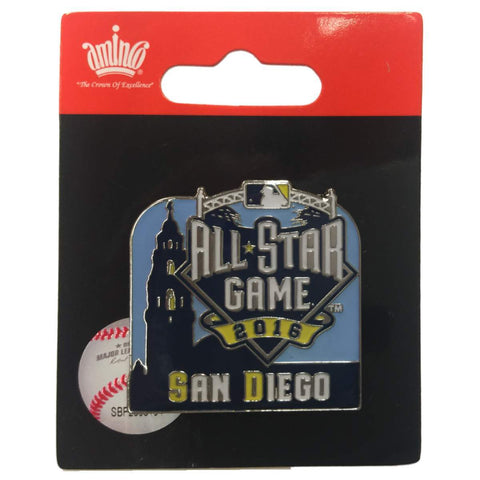 Shop 2016 All-Star Game San Diego Aminco Museum of Man Balboa Park Tower Lapel Pin