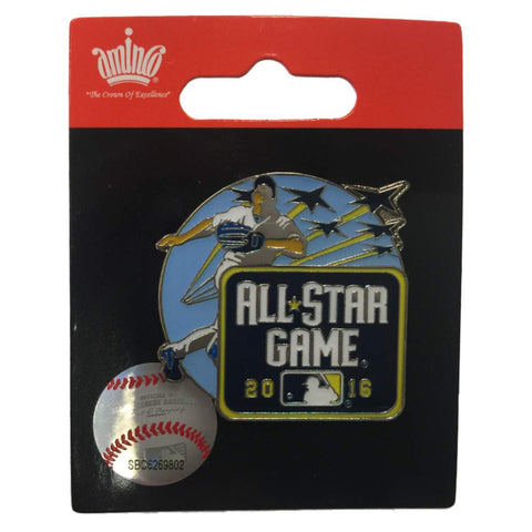 2016 MLB All-Star Game San Diego Baseball Player Jets Flying Overhead Lapel Pin