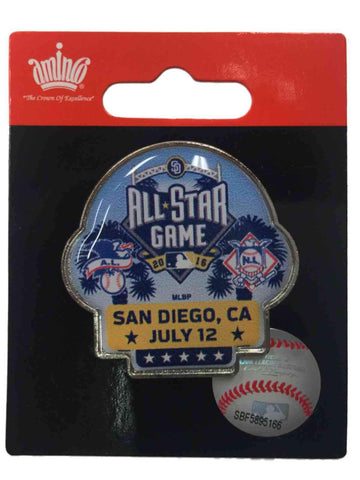 Shop 2016 MLB All-Star Game San Diego Dueling AL vs NL Teams Collectible Lapel Pin - Sporting Up