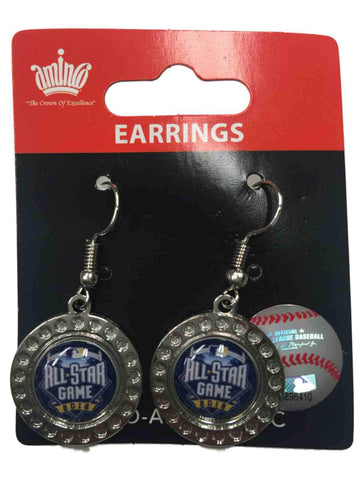Shop 2016 MLB All-Star Game San Diego Aminco Women's Pair Hypo-Allergenic Earrings - Sporting Up