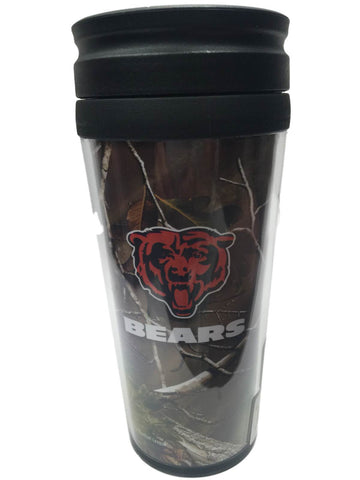 Chicago Bears Boelter Realtree Xtra Green Camo Insulated Travel Mug Tumbler - Sporting Up