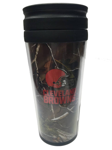 Cleveland Browns Boelter Realtree Xtra Green Camo Insulated Travel Mug Tumbler