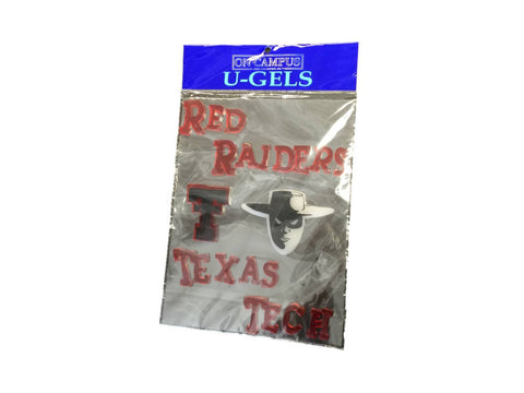 Texas Tech Raiders On Campus Red, Black, and White Reusable U-Gels