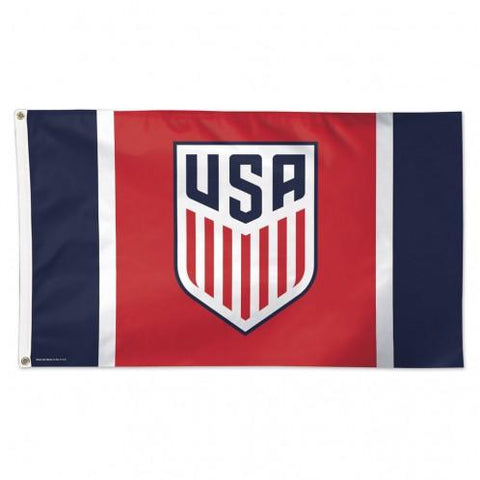 USA United States National Soccer Team WinCraft Indoor Outdoor Deluxe Flag