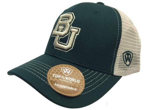 Shop Baylor Bears TOW Green Ranger Mesh Adjustable Snapback Structured Hat Cap