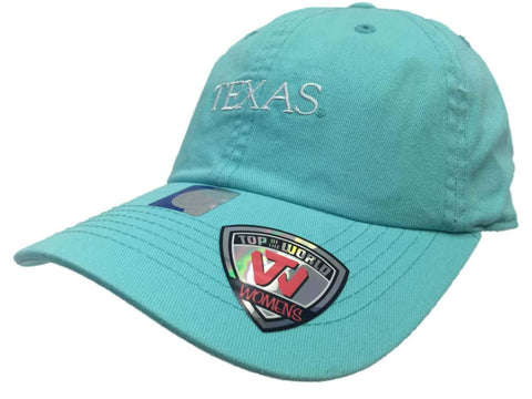 Texas Longhorns TOW WOMEN Mint Green Seaside Adjustable Slouch Hat Cap