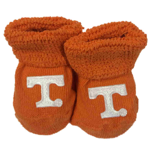 Tennessee Volunteers Two Feet Ahead Infant Baby Newborn Orange Socks Booties