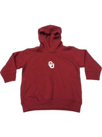 Oklahoma Sooners Two Feet Ahead TODDLER Red Fleece Hoodie Sweatshirt