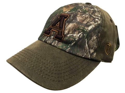 Shop Appalachian State Mountaineers TOW Brown Realtree Camo Driftwood Adjust Hat Cap